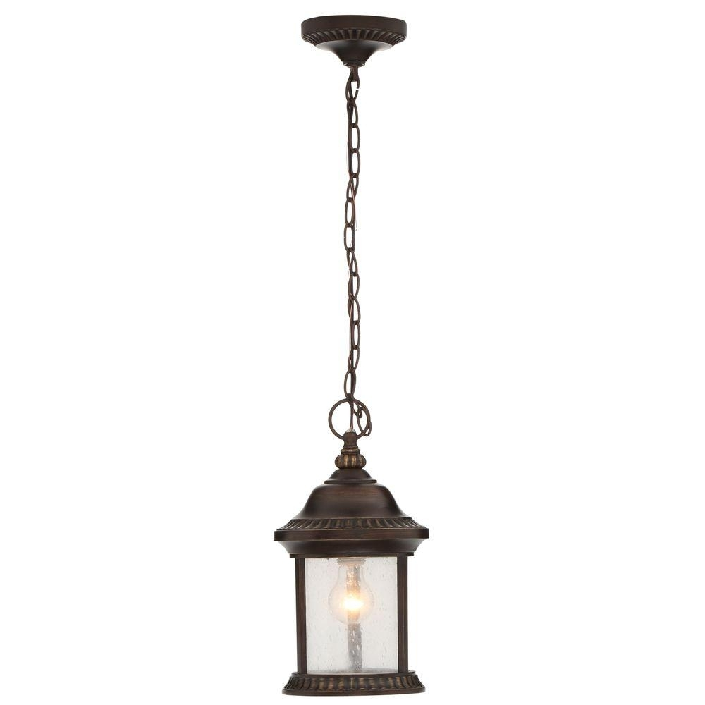 Home Decorators Collection – Outdoor Ceiling Lighting – Outdoor In Electric Outdoor Hanging Lanterns (#6 of 15)