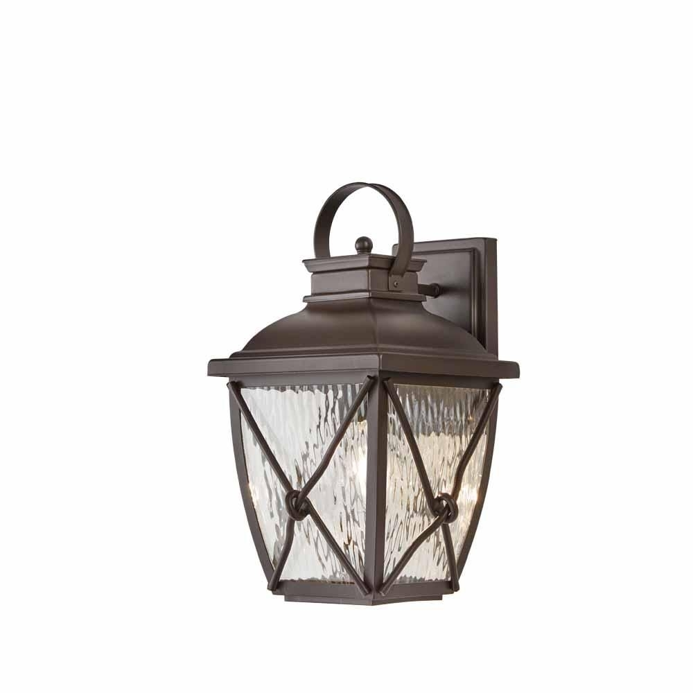 Home Decorators Collection Springbrook 1 Light Rustic Outdoor Wall Inside Brisbane Outdoor Wall Lighting (View 15 of 15)