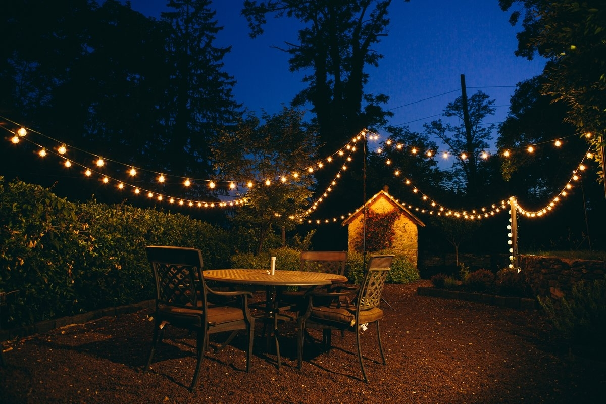 Hometownevolutioninc 100 Light Globe String Lights & Reviews | Wayfair With Regard To Modern Outdoor String Lights At Wayfair (#6 of 15)