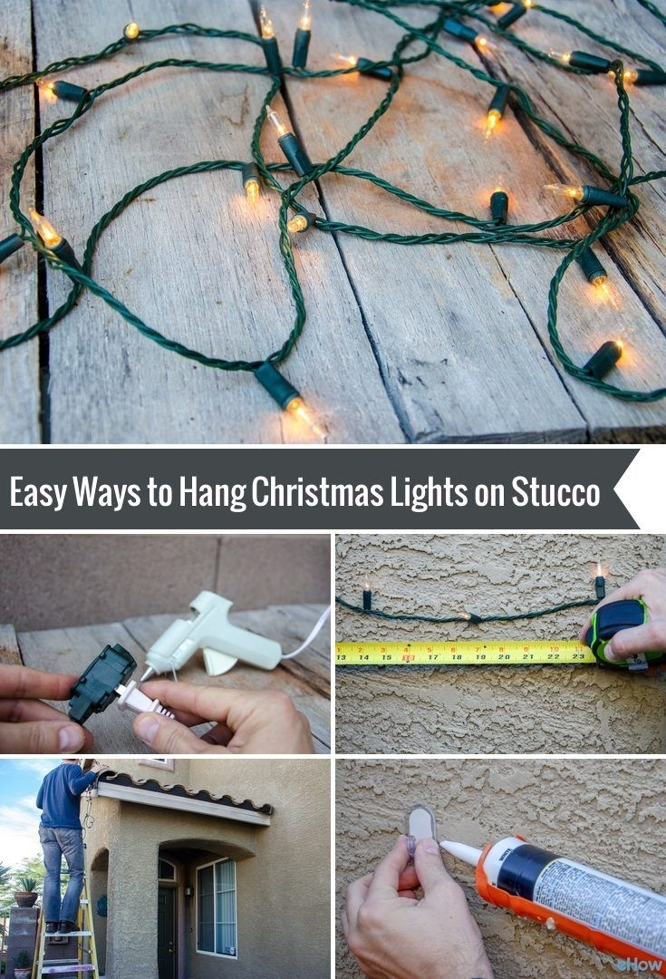 Popular Photo of Hanging Outdoor Lights On Stucco