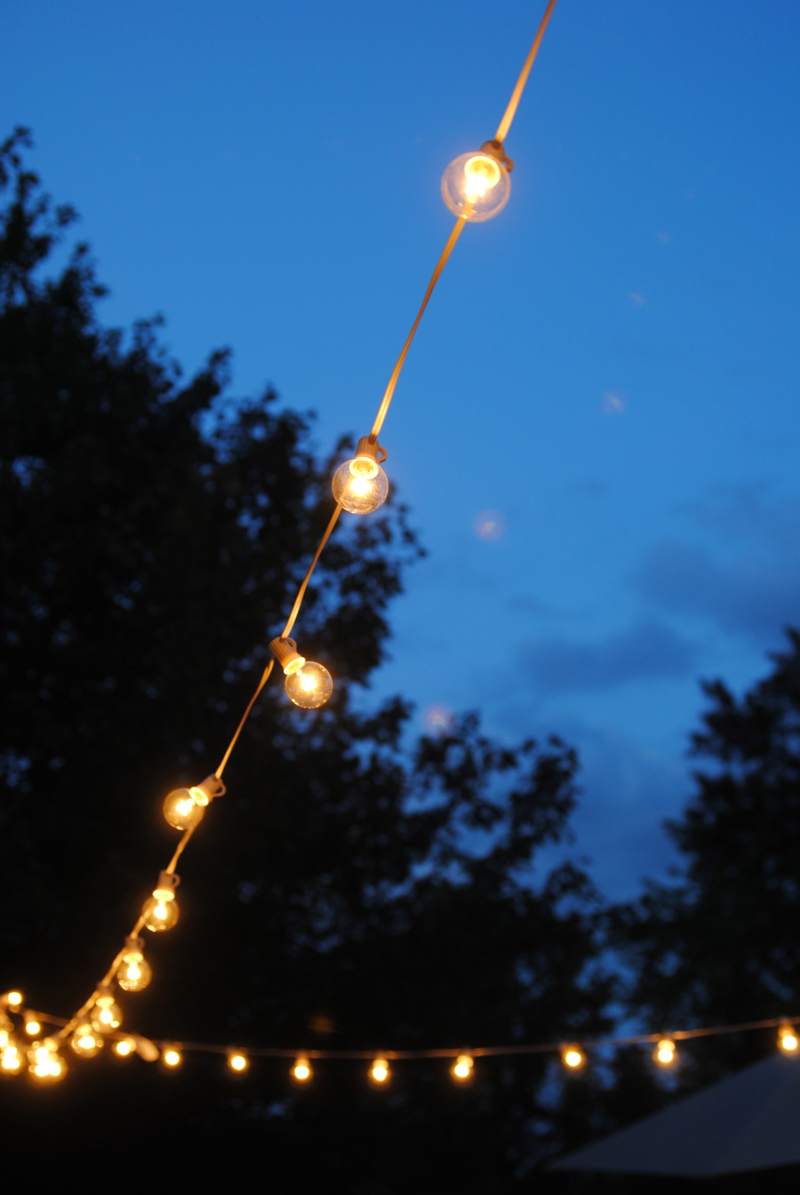 How To Hang Outdoor String Lights (The Deck Diaries, Part 3 For Outdoor Patio Hanging String Lights (View 15 of 15)