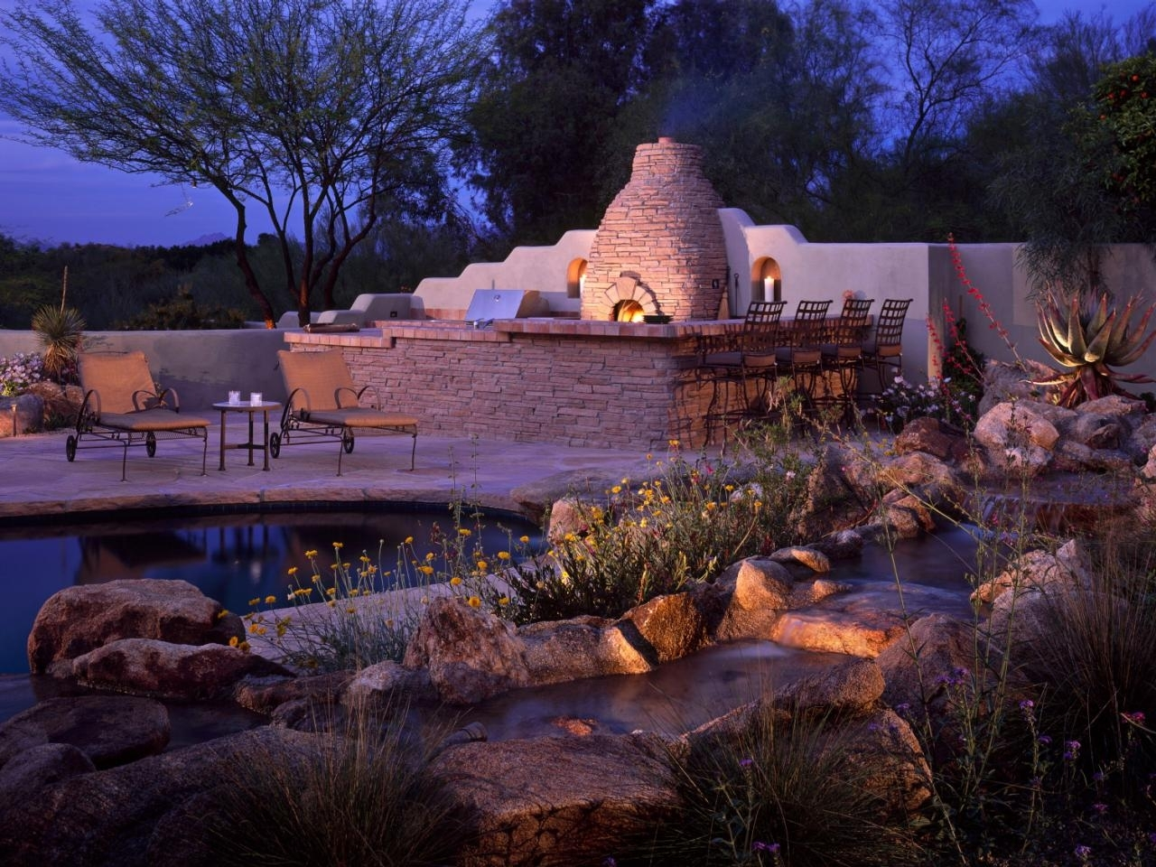 How To Illuminate Your Yard With Landscape Lighting | Hgtv Pertaining To Electric Outdoor Lighting Garden (View 12 of 15)