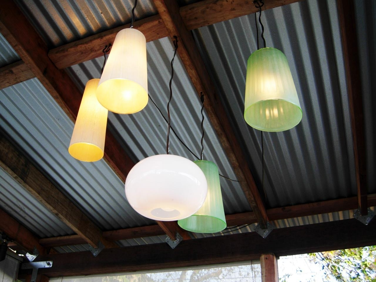 How To Make Outdoor Chandeliers | How Tos | Diy With Regard To Outdoor Hanging Lights For Gazebos (View 12 of 15)