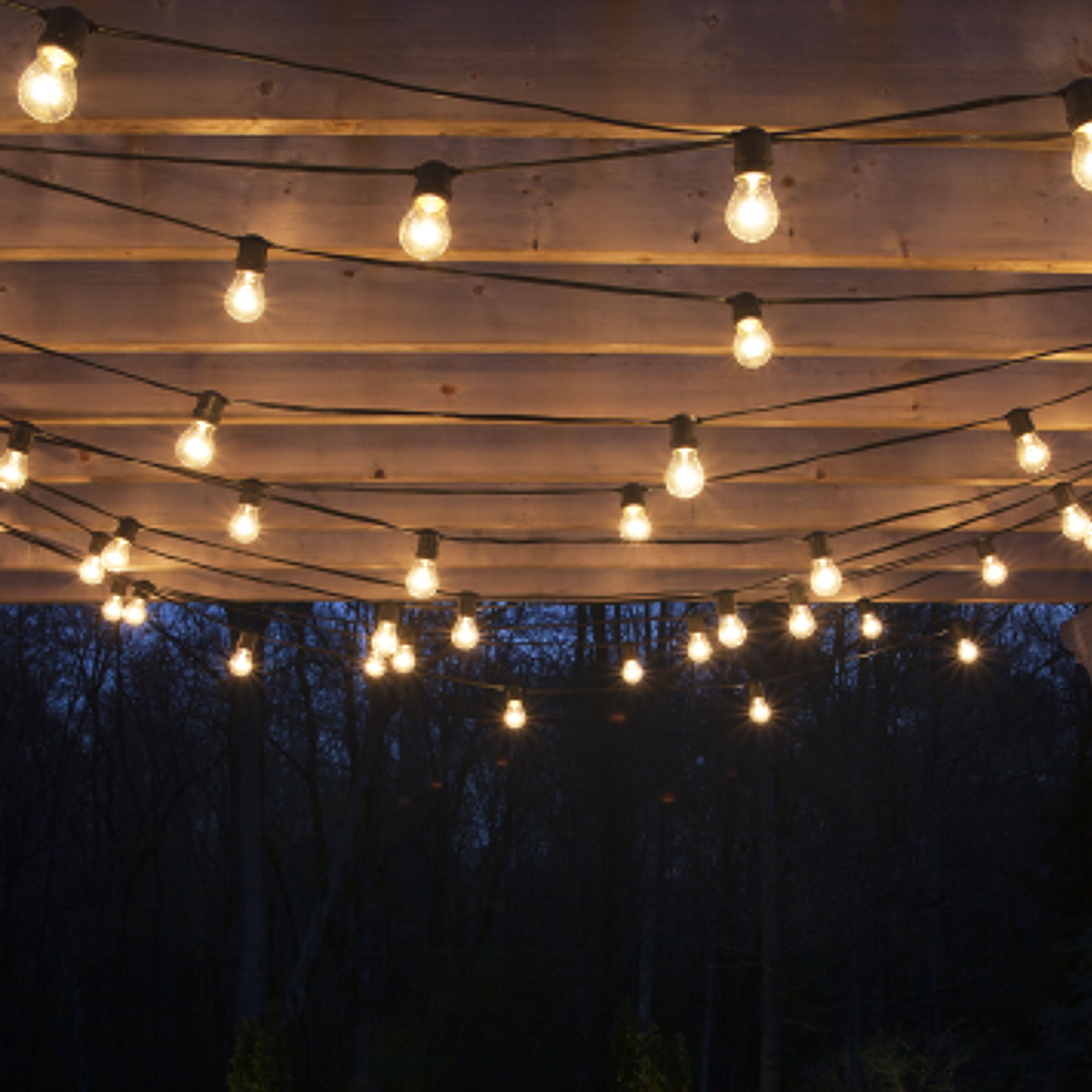 How To Plan And Hang Patio Lights | Patio Lighting, Pergolas And Patios Inside Hanging Outdoor Lights (#7 of 15)