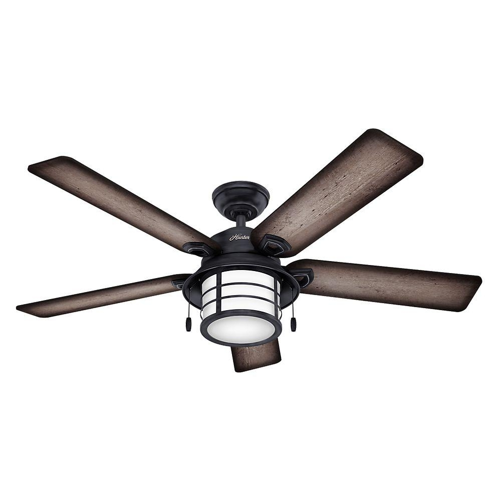 How To Purchase Hunter Outdoor Ceiling Fans – Blogbeen With Indoor Outdoor Ceiling Fans Lights (View 10 of 15)