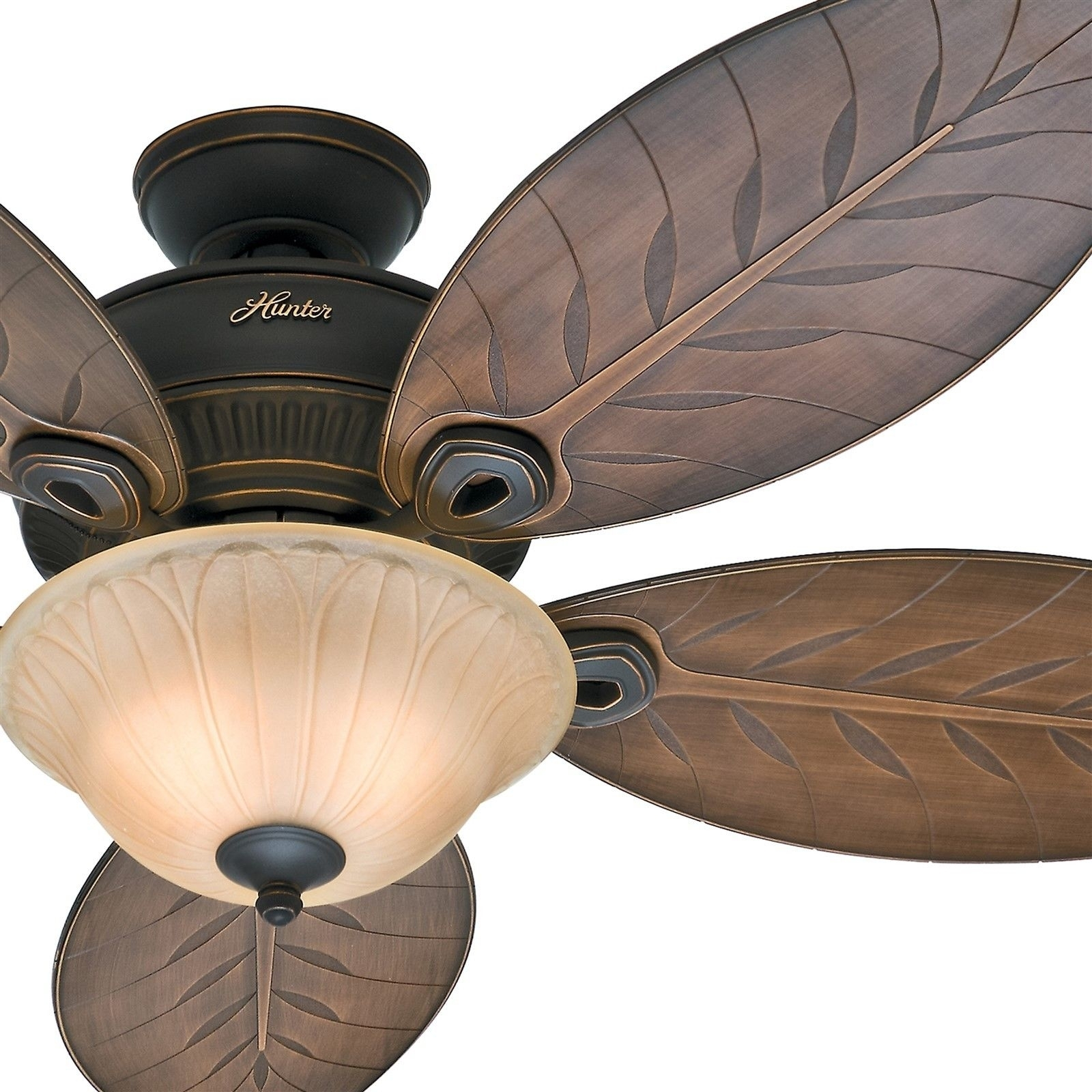 Popular Photo of Outdoor Ceiling Fans With Tropical Lights