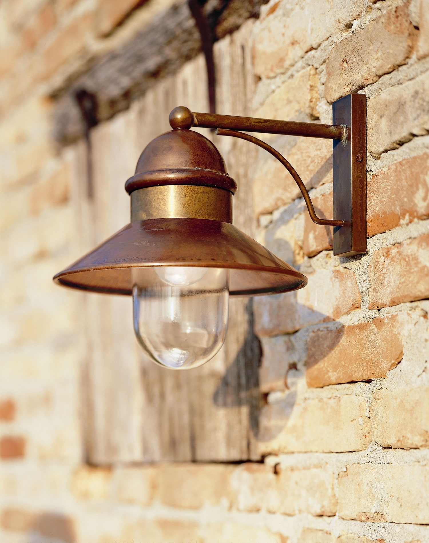 Inspiration about Il Borgo 244.05 Exterior Wall Light | Online Lighting With Copper Outdoor Wall Lighting (#1 of 15)
