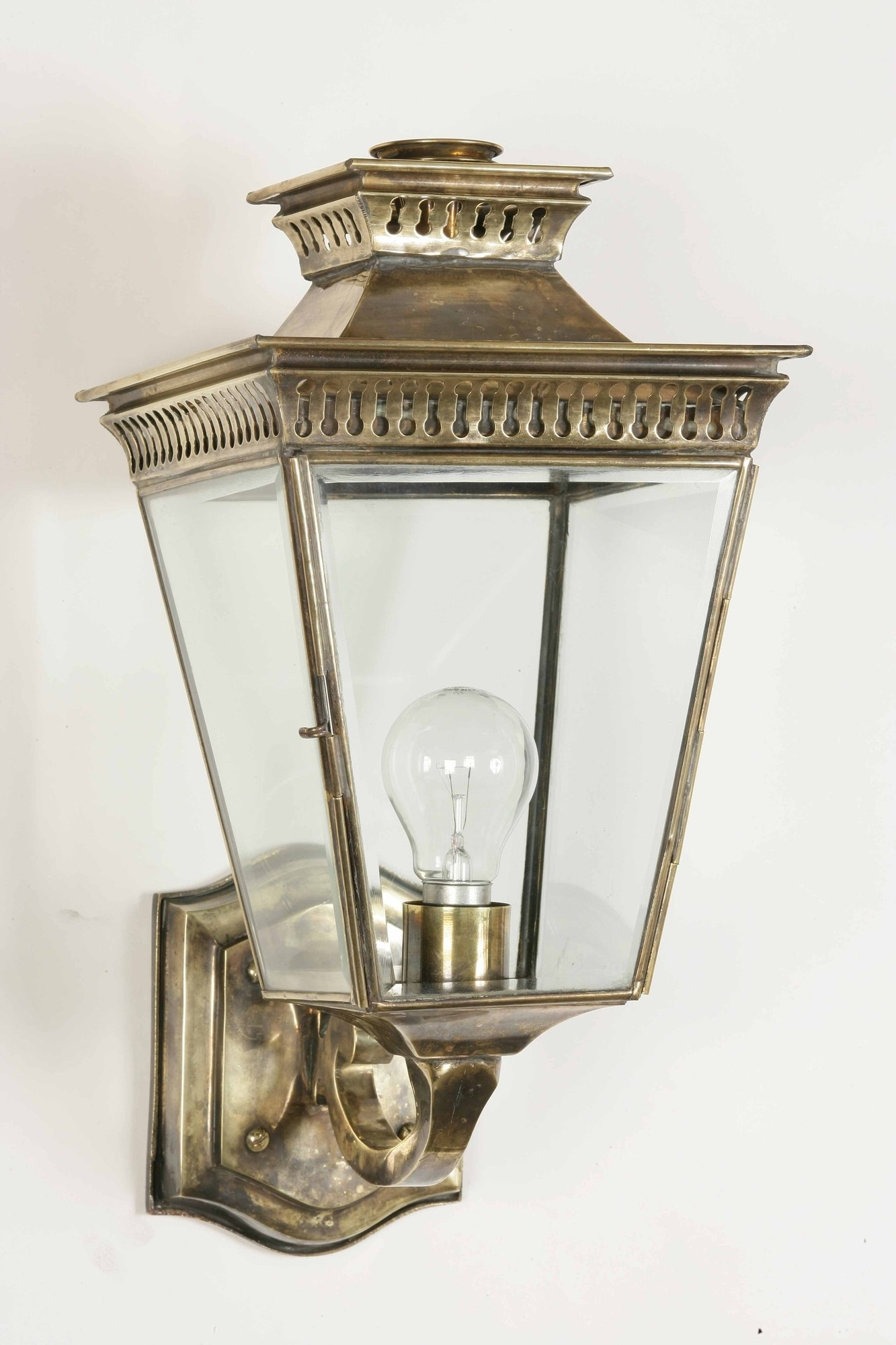 Inspiration about Image Result For Brass Or Antique Brass Outdoor Wall Lights Regarding Outdoor Wall Lantern Lighting (#14 of 15)