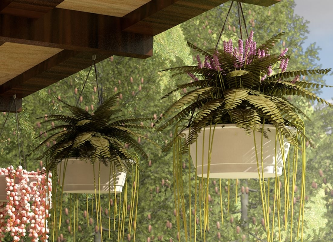 Image Result For Hanging Planter Outdoor | Home | Pinterest | Planters Intended For Outdoor Hanging Basket Lights (#11 of 15)