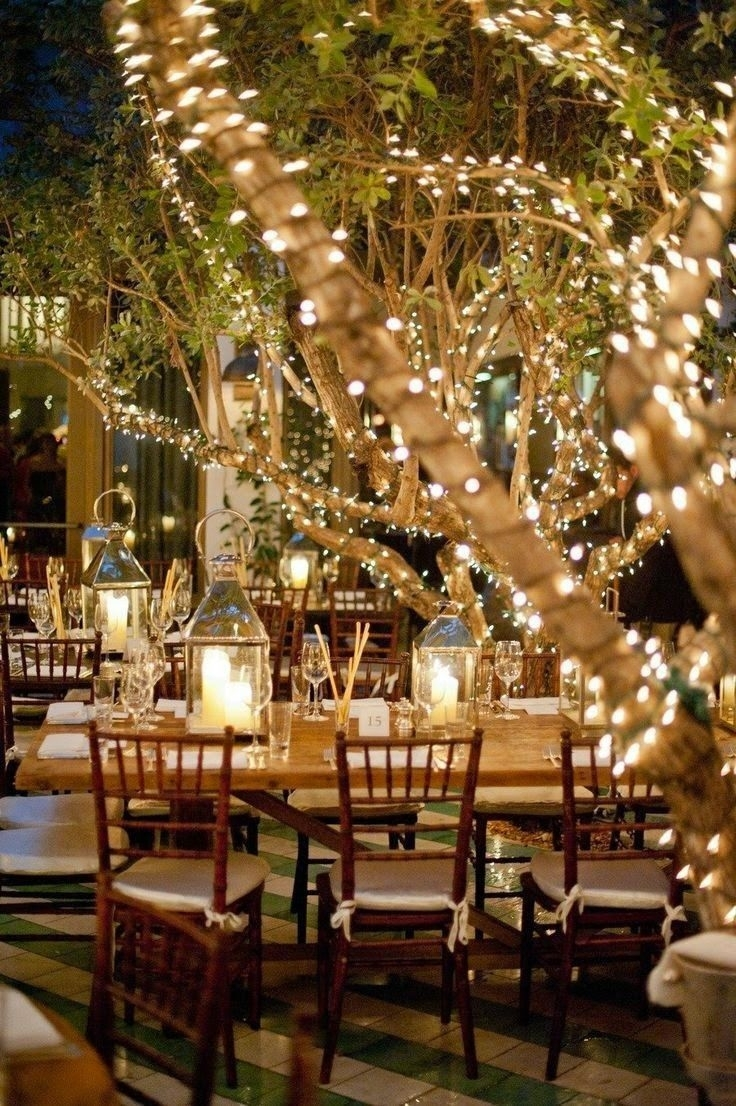 Image Result For Patio Lights Restaurant | Outdoor Lighting With Regard To Outdoor Hanging Tree Lanterns (View 13 of 15)