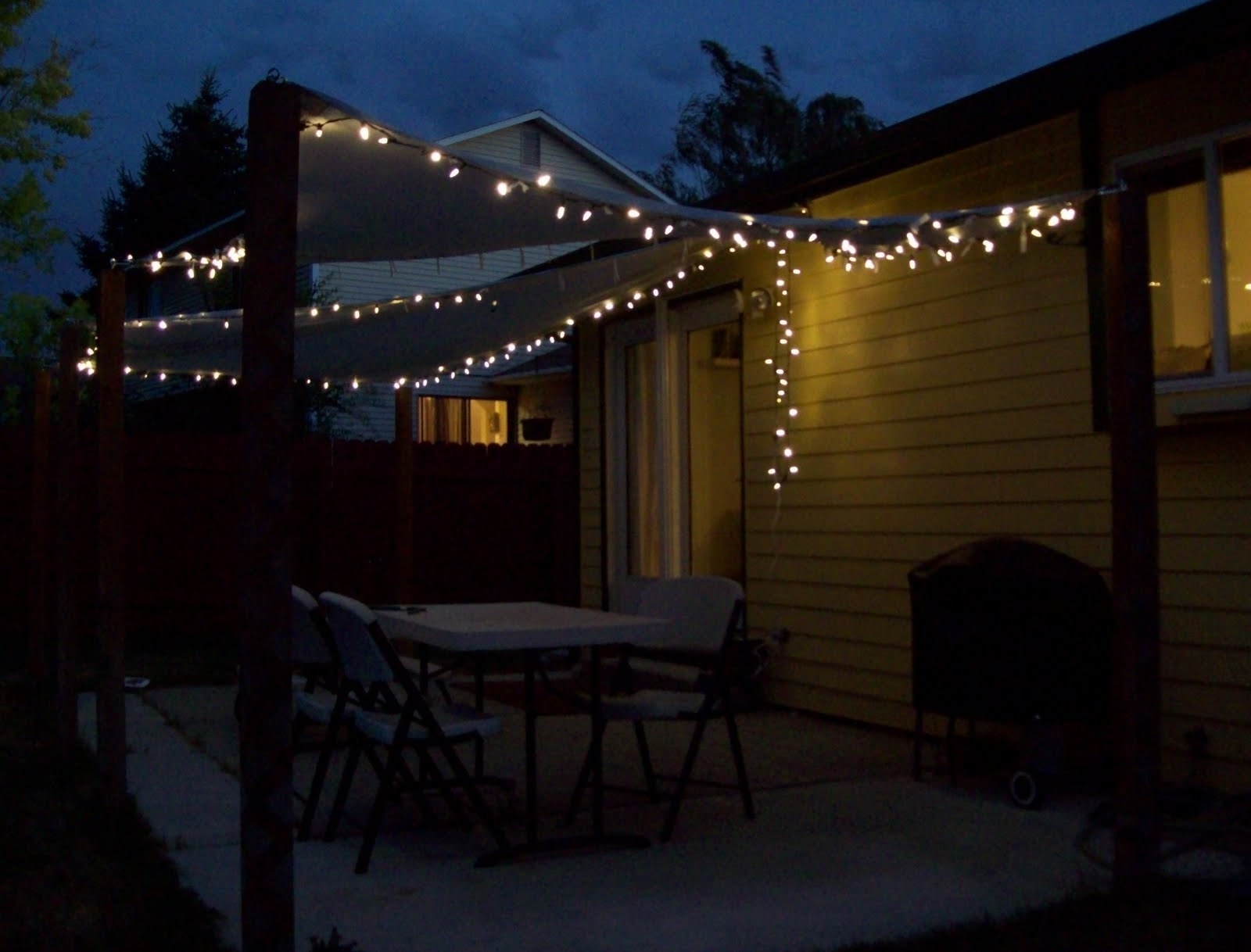 Impressive On Patio Hanging Lights Lawn Garden Nice String Light For Outdoor Hanging Decorative Lights (#5 of 15)