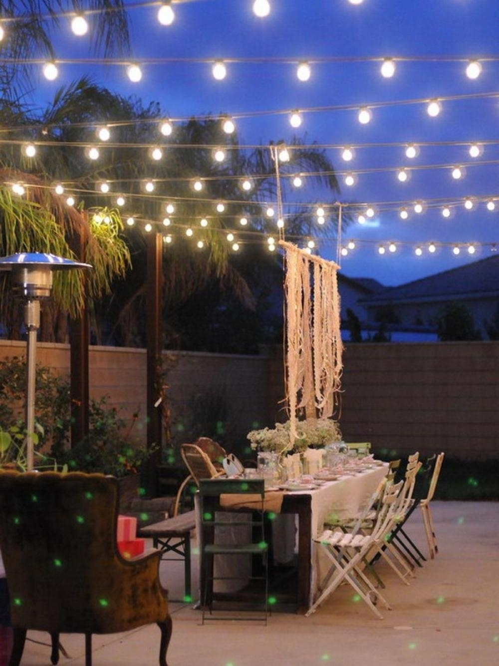 Incredible Hanging Patio Lights The Benefits Of Outdoor Patio Lights For Outdoor Hanging Garden Lights (View 3 of 15)