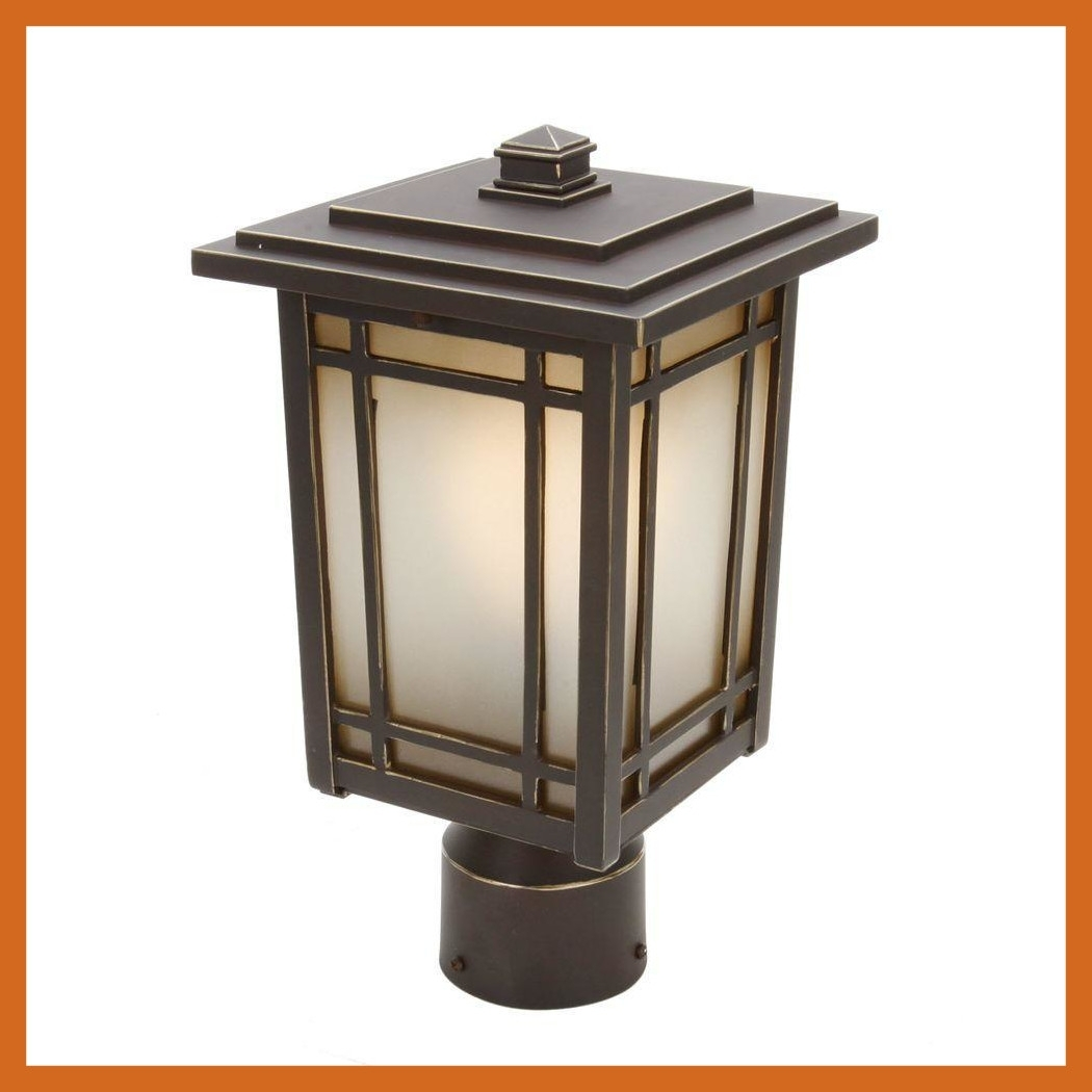 Inspiration about Incredible Home Decorators Collection Mccarthy Light Bronze Outdoor In Contemporary Outdoor Solar Lights At Wayfair (#2 of 15)