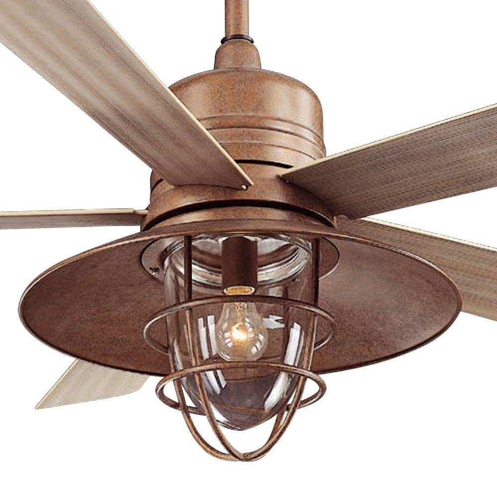Incredible Lights 79 Rustic Fan Light Along With 52 Casa Vieja Inside Outdoor Ceiling Fans With Copper Lights (#12 of 15)