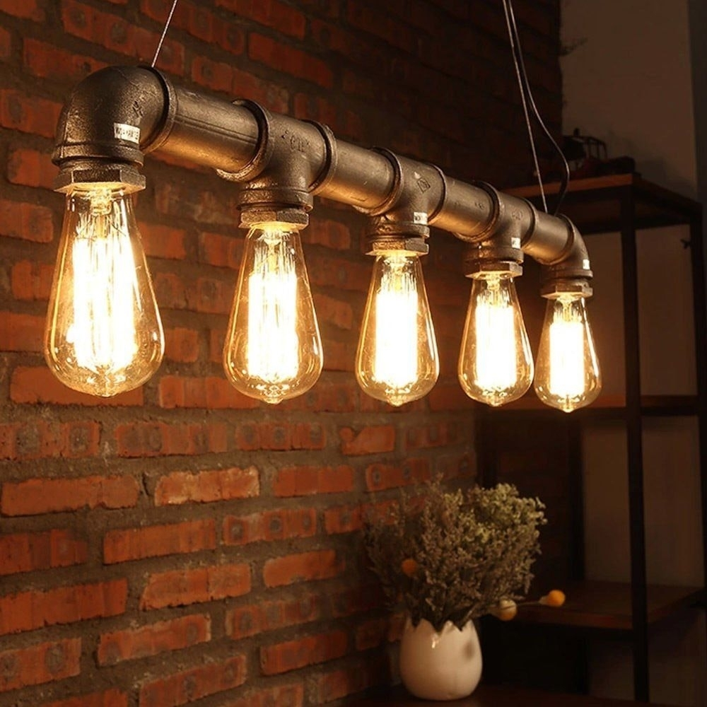 Industrial Loft Pendant Vintage Ceiling Light Diy Decoration Lamp In Diy Outdoor Ceiling Lights (#13 of 15)