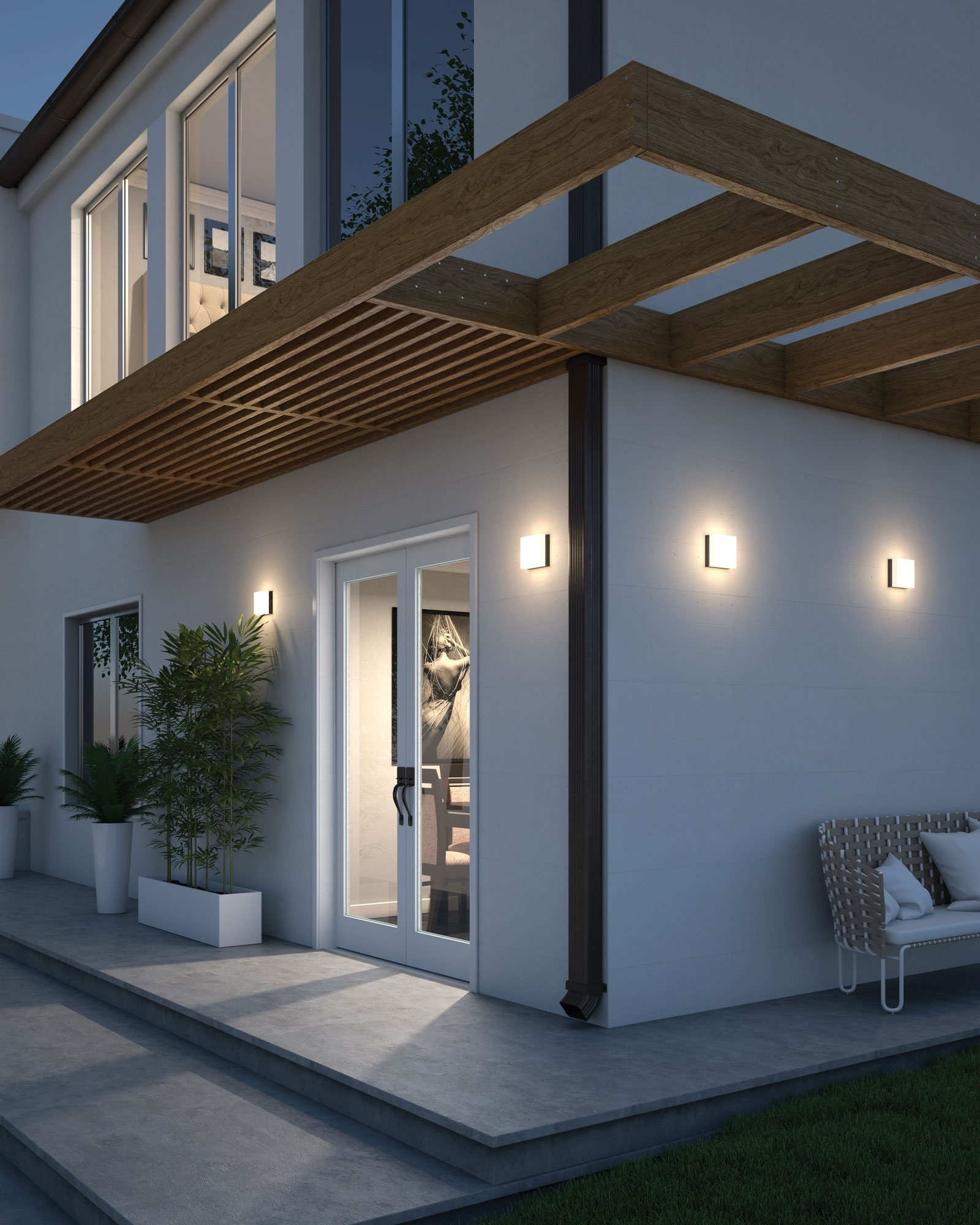 Inspiration about Installation Gallery | Outdoor Lighting In Outdoor Wall Ceiling Lighting (#15 of 15)
