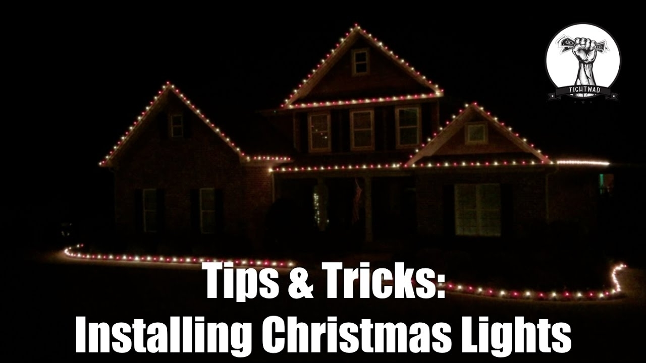 Inspiration about Installing Christmas Lights On Your Roof Line And House – Youtube For Hanging Outdoor Christmas Lights In Roof (#12 of 15)