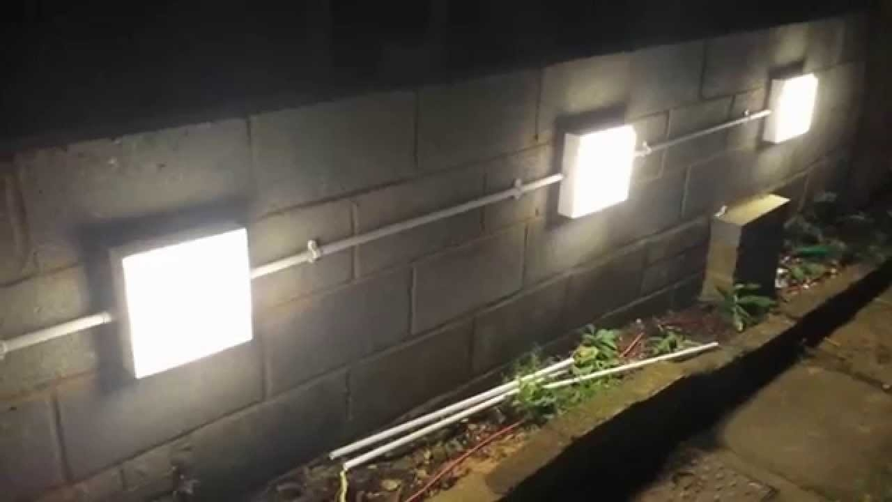 Inspiration about Installing Garden Wall Lights – Youtube In Garden Outdoor Wall Lights (#9 of 15)
