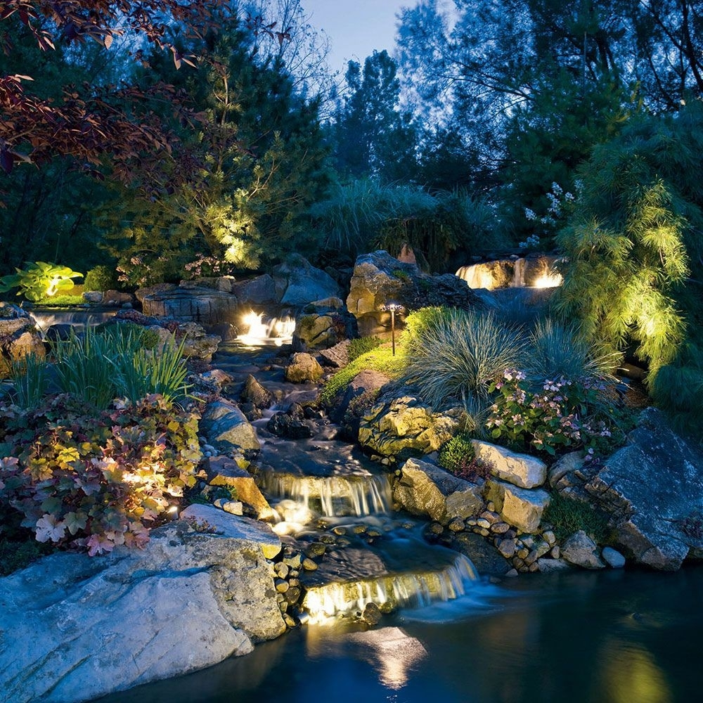 Inspiration about Installing : Landscape Lighting Wattage Also Landscape Lighting Throughout Kichler Outdoor Landscape Lighting (#5 of 15)