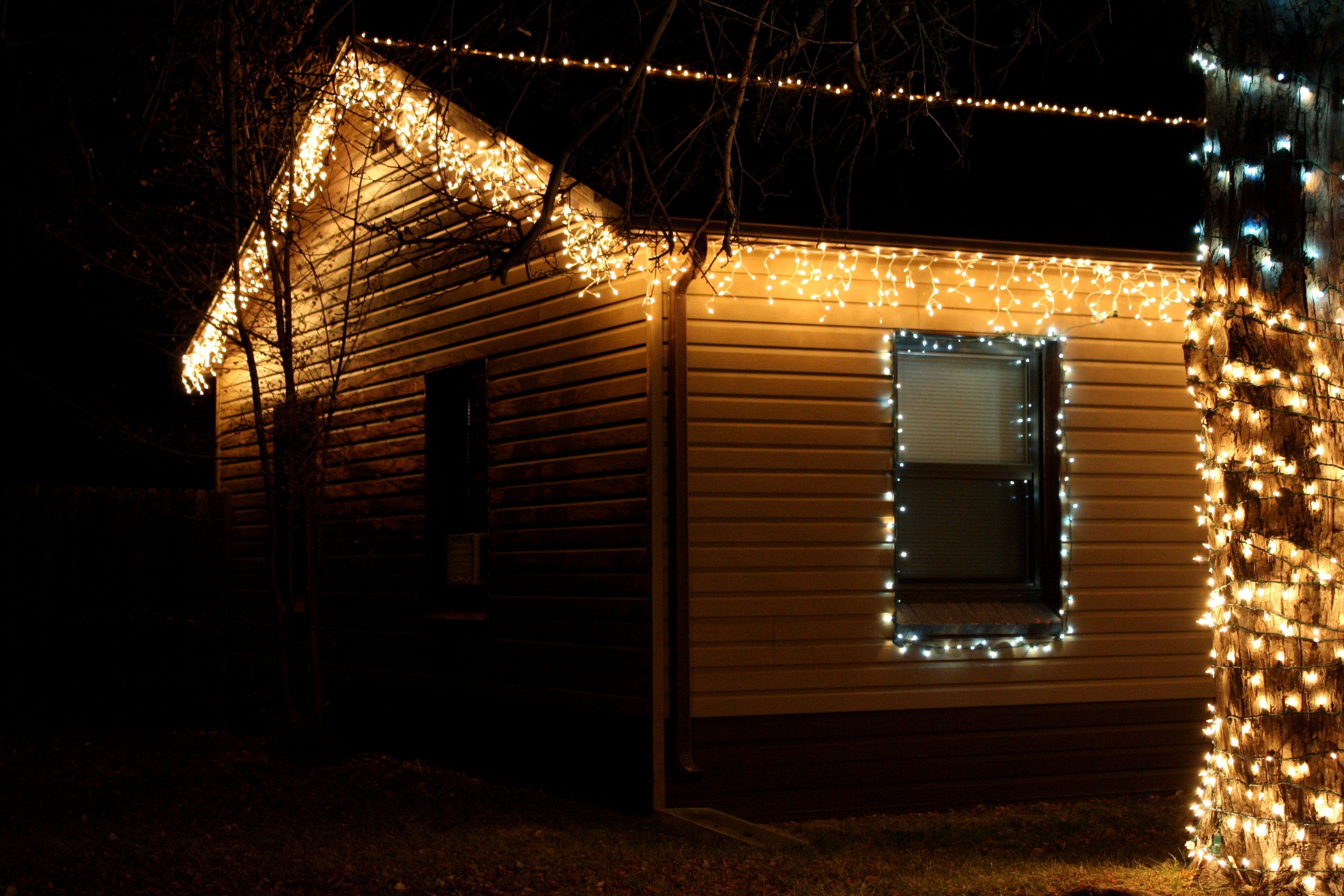 Interesting Inspiration Christmas Lights Icicle Dripping Outdoor Led Pertaining To Outdoor Hanging Icicle Lights (#10 of 15)