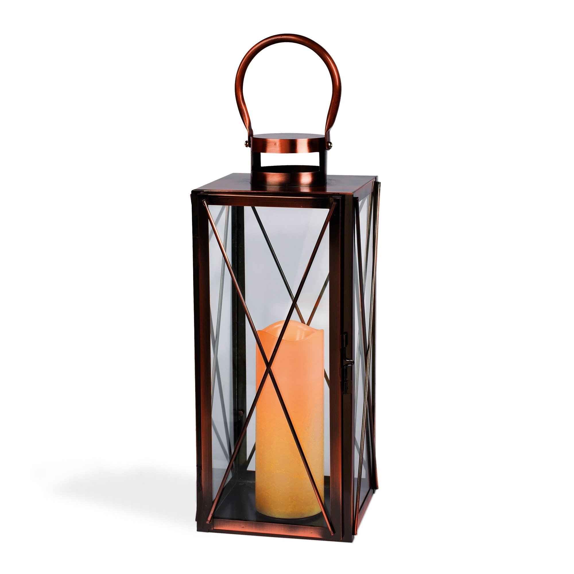 Inspiration about Interior : Hanging Candle 16Inch Copper Lantern Australia Outdoor Intended For Outdoor Hanging Candle Lanterns At Wholesale (#12 of 15)