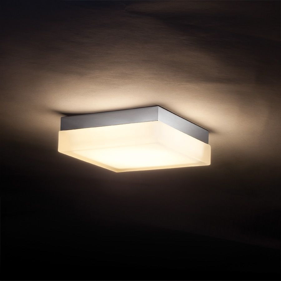 Inspiration about Interior,cool Awesome Square Ceiling Mount Light Design Ideas With Within Contemporary Outdoor Ceiling Lights (#5 of 15)