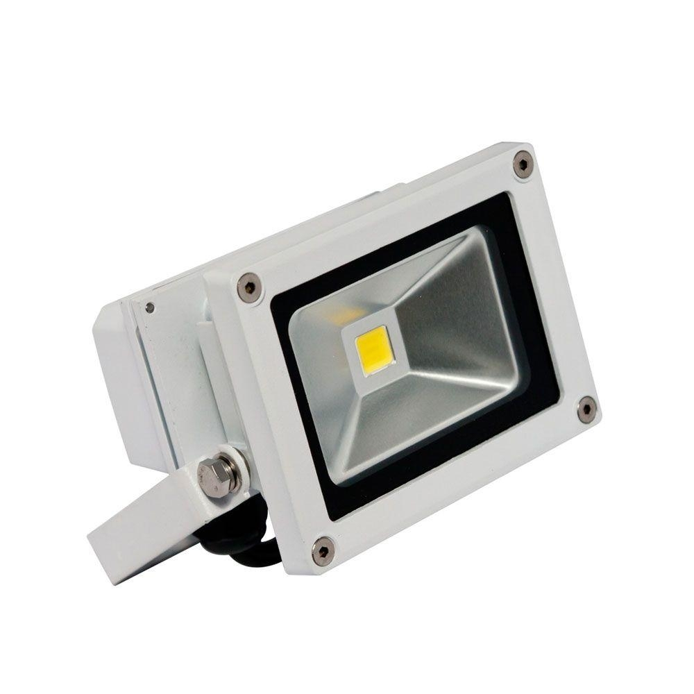 Inspiration about Irradiant 1 Head White Led Soft White Outdoor Wall Mount Mini Flood Intended For Outdoor Wall Flood Lights (#9 of 15)