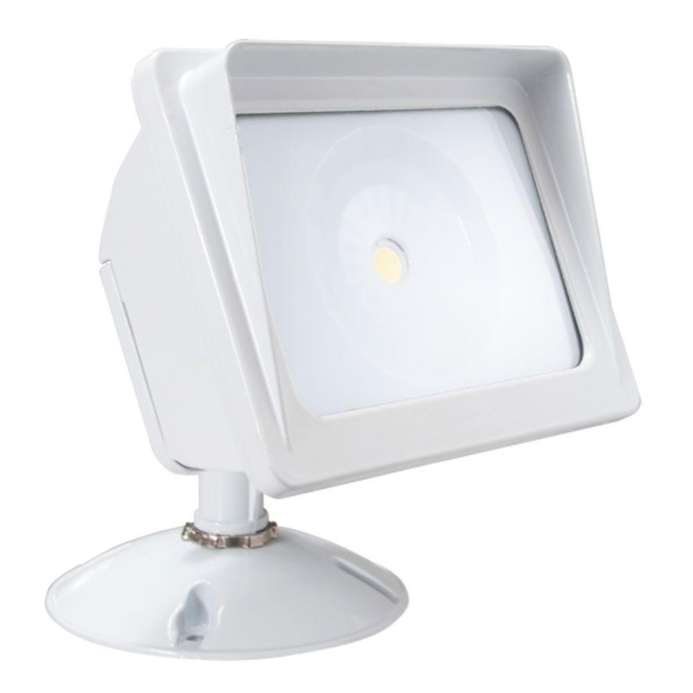Inspiration about Irradiant White Led Outdoor Wall Mount Flood Light Alv2 Wf Wh – The With Outdoor Wall Flood Lights (#15 of 15)
