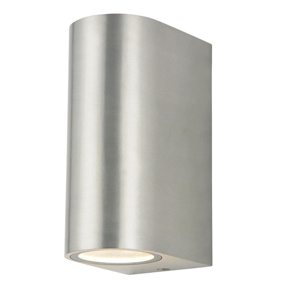 Inspiration about Irwell 2 Light Up And Down Outdoor Wall Light – Stainless Steel From Intended For Stainless Steel Outdoor Wall Lights (#7 of 15)