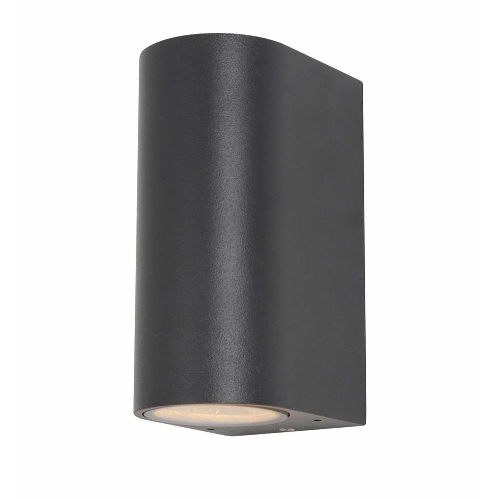 Irwell Up & Down Light Outdoor Wall Light – Black From Litecraft™ In Black Outdoor Wall Lighting (#9 of 15)