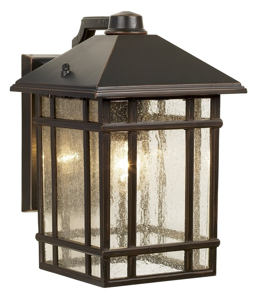 """Jardin Du Jour Sierra Craftsman 11"""" High Outdoor Wall Light – Wall With Outdoor Hanging Lanterns At Amazon (View 9 of 15)"""