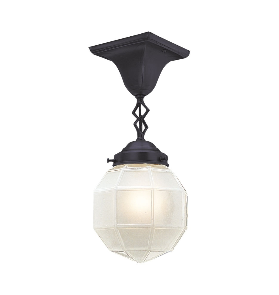 "Jordan Valley 3 1/4"" Semi Flush Mount 