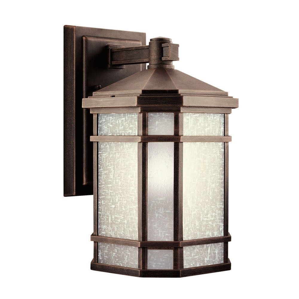 Kichler 11018Pr Cameron 18 Watt 1 Light Fluorescent Outdoor Wall Within Outdoor Wall Lighting At Ebay (#11 of 15)