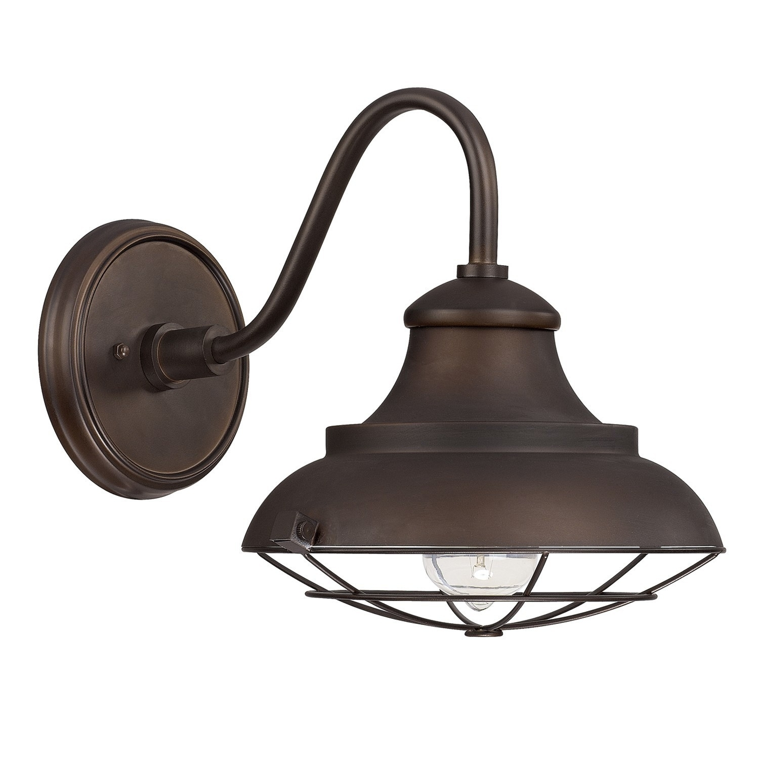 Kichler 7 12 Inch Nautical Outdoor Wall Light With Led Bulb With Regard To Pottery Barn Outdoor Wall Lighting (#4 of 15)