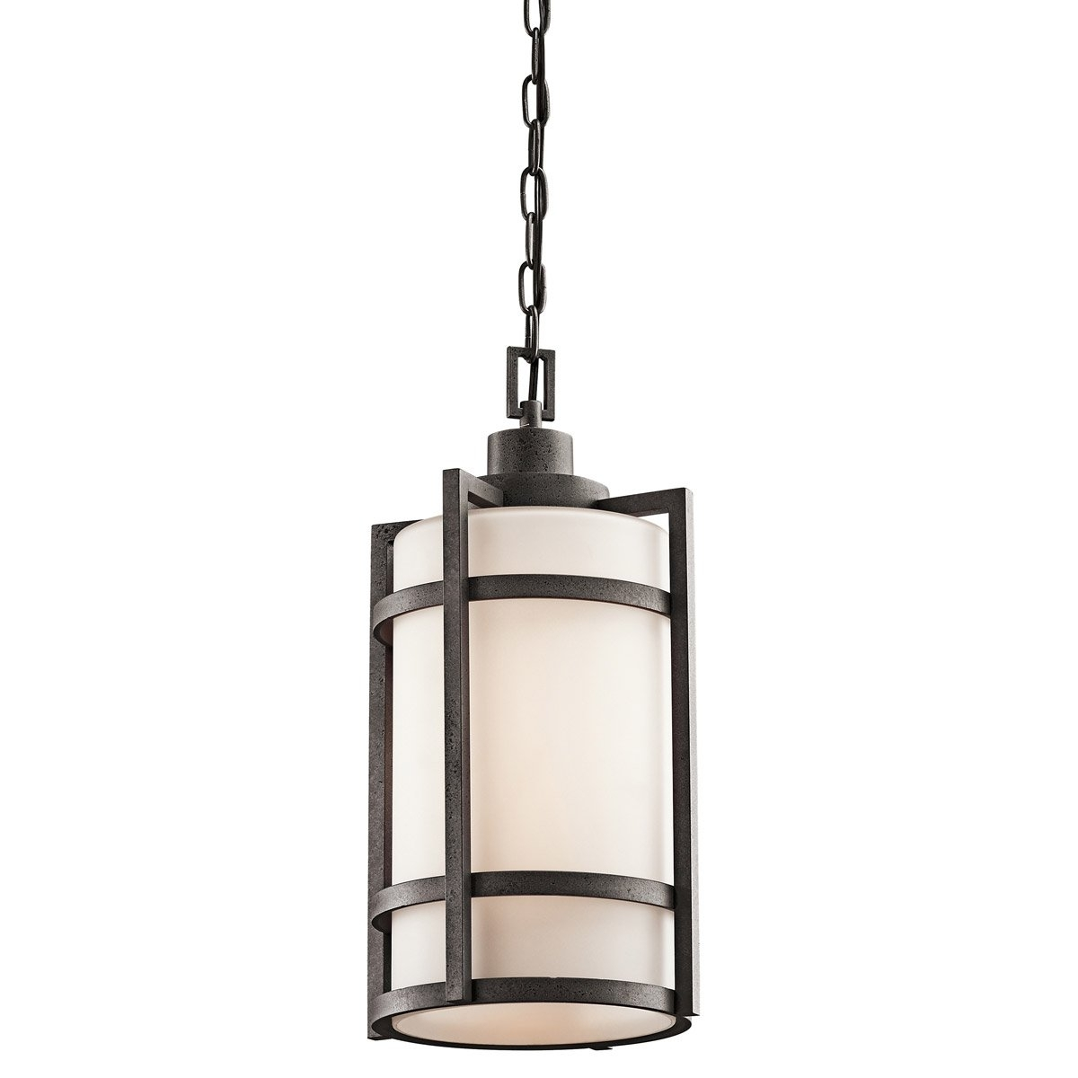 Kichler Lighting 49124Avi Camden 1 Light 10 Inch Anvil Iron Outdoor Within Outdoor Pendant Kichler Lighting (View 13 of 15)