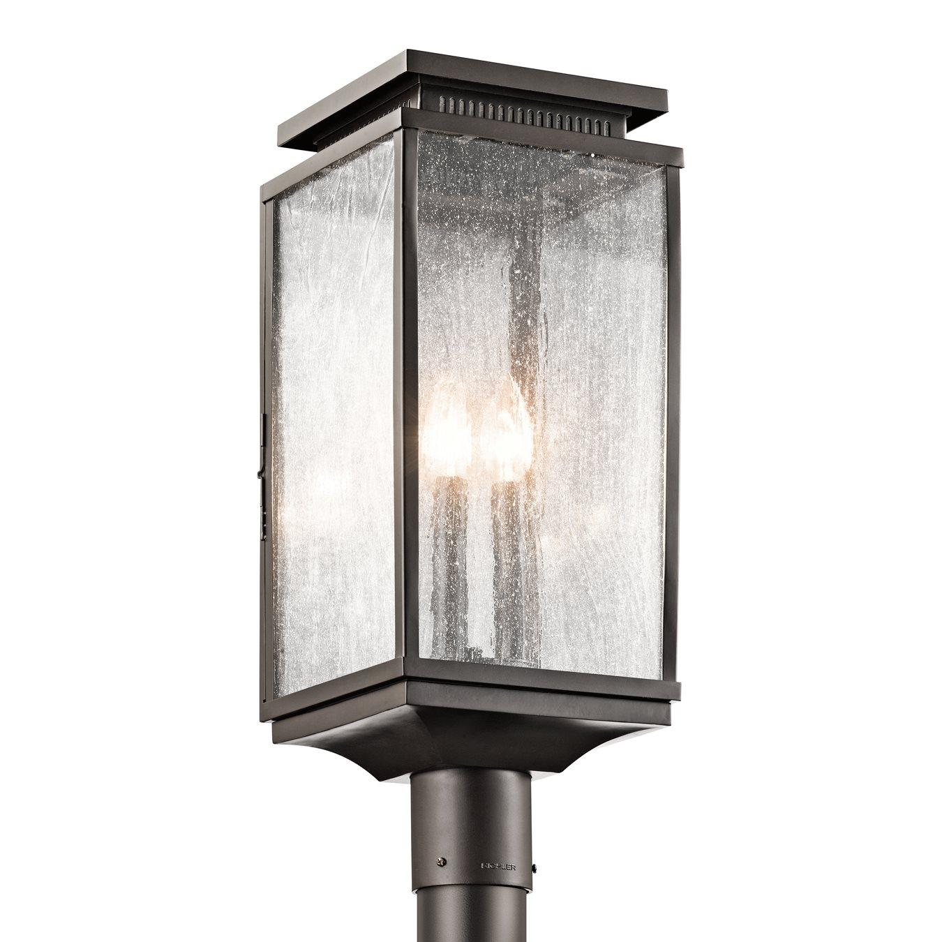 Kichler Lighting 49388Oz Manningham Outdoor Post Light | Lowe's Canada Pertaining To Outdoor Post Lights Kichler Lighting (View 4 of 15)