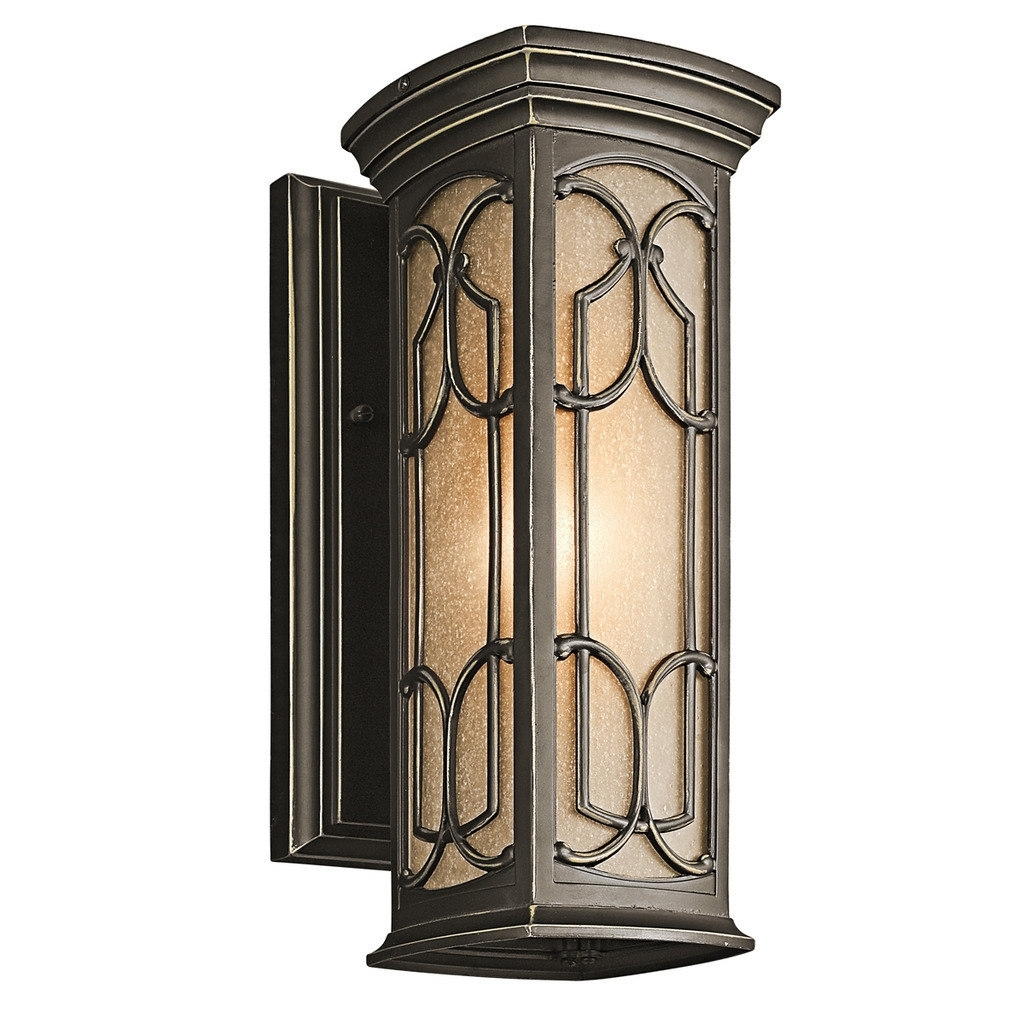 Kichler Lighting Franceasi Collection 1 Light Olde Bronze Outdoor Pertaining To Let Outdoor Kichler Lighting (#9 of 15)