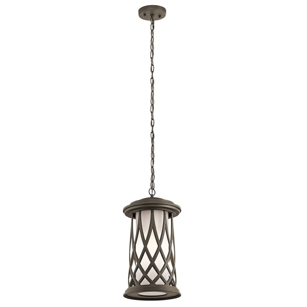Kichler Lighting Pebble Lane Collection 1 Light Olde Bronze Outdoor With Regard To Let Outdoor Kichler Lighting (#11 of 15)