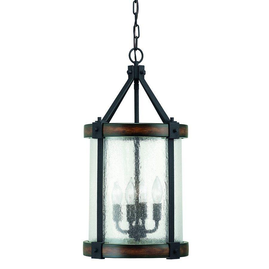Kichler Lighting Pendant Light 34689 4 Light Wood Foyer Pendant With Outdoor Chandelier Kichler Lighting (#7 of 15)