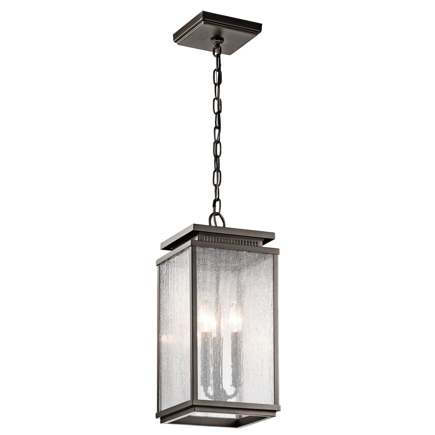 Kichler Manningham 3 Light Outdoor Pendant & Reviews | Wayfair Pertaining To Wayfair Outdoor Hanging Lighting Fixtures (View 12 of 15)