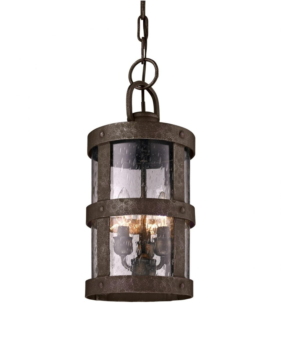 Kitchen : Copper Outdoor Wall Mounted Lighting The Lantern Pir With Regard To Outdoor Hanging Lanterns With Pir (#8 of 15)
