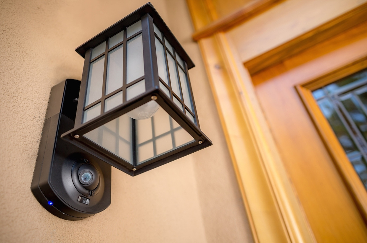 Kuna Security Light Review: A Great Product But Consider The Full With Regard To Outdoor Wall Lights With Security Camera (#5 of 15)