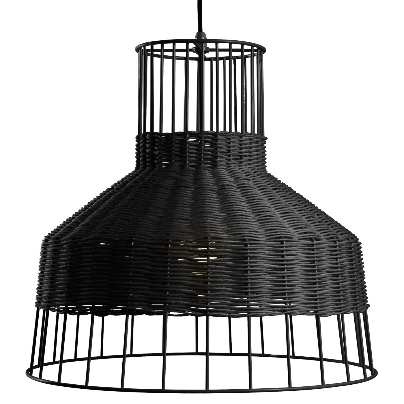 Laika Pendant Light – Rattan Pendant Light | Blu Dot With Regard To Outdoor Rattan Hanging Lights (View 12 of 15)