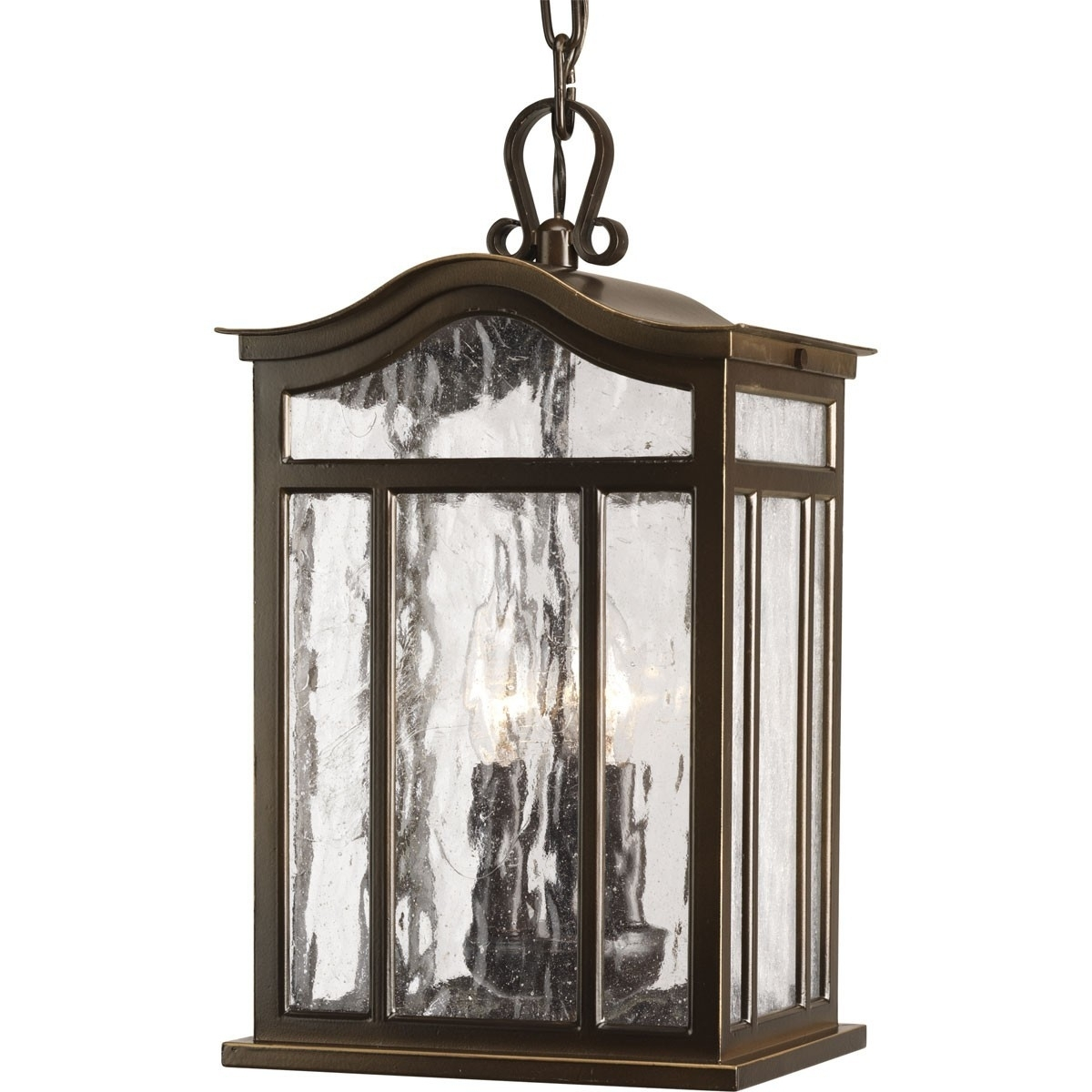 Lamp: Casual European Style Three Light Outdoor Hanging Lantern In Outdoor Hanging Lanterns From Australia (#9 of 15)
