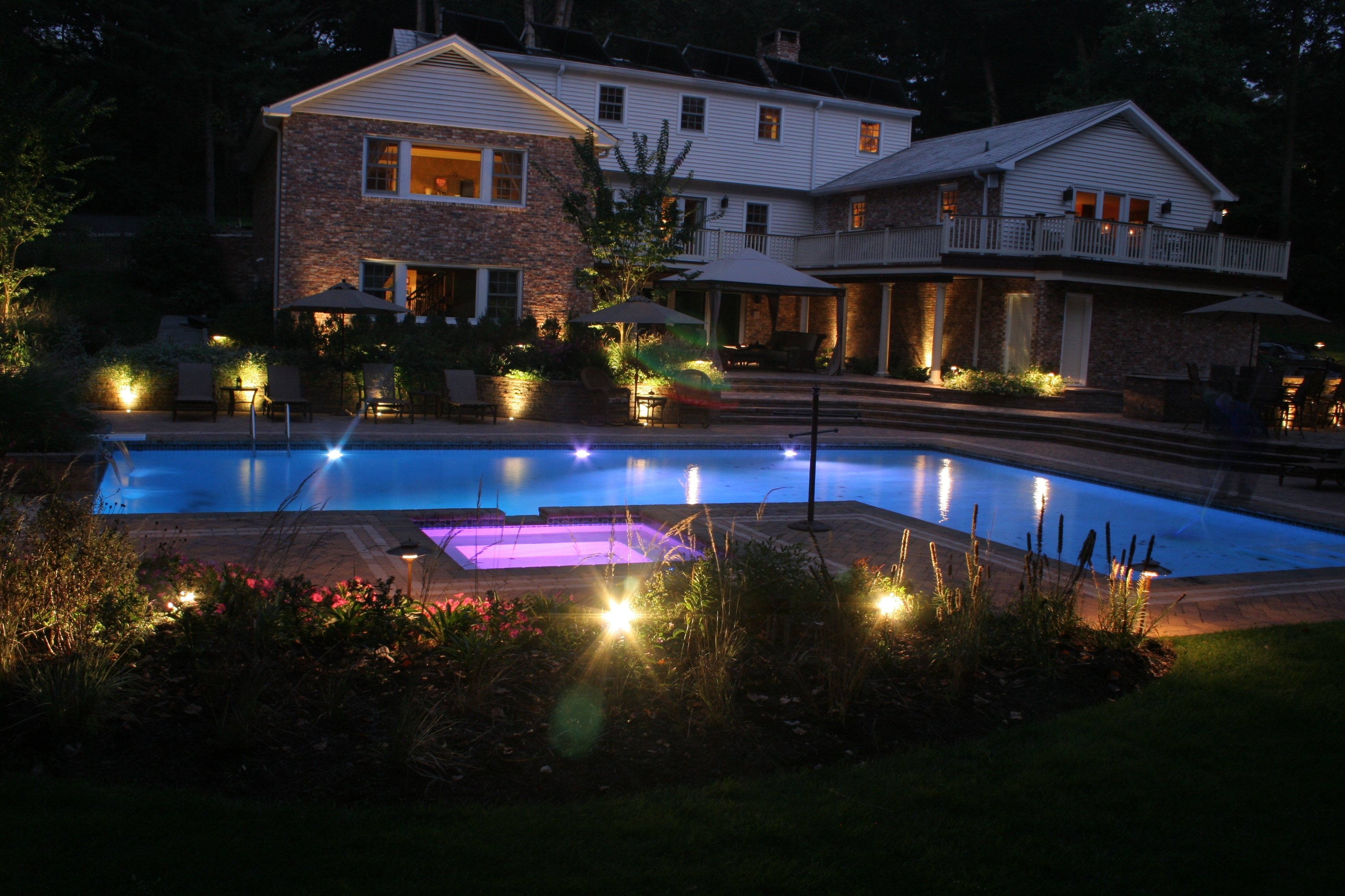 Lamp: Efficient Lighting Solution With Hampton Bay Low Voltage Intended For Low Voltage Outdoor Lighting (#6 of 15)