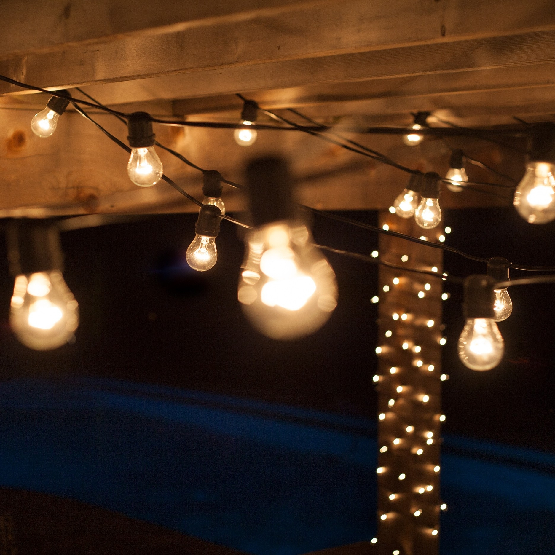 Lamp: Home Depot Outdoor String Patio Lights Outdoor Hanging Deck Lights Pertaining To Outdoor Hanging Deck Lights (View 9 of 15)
