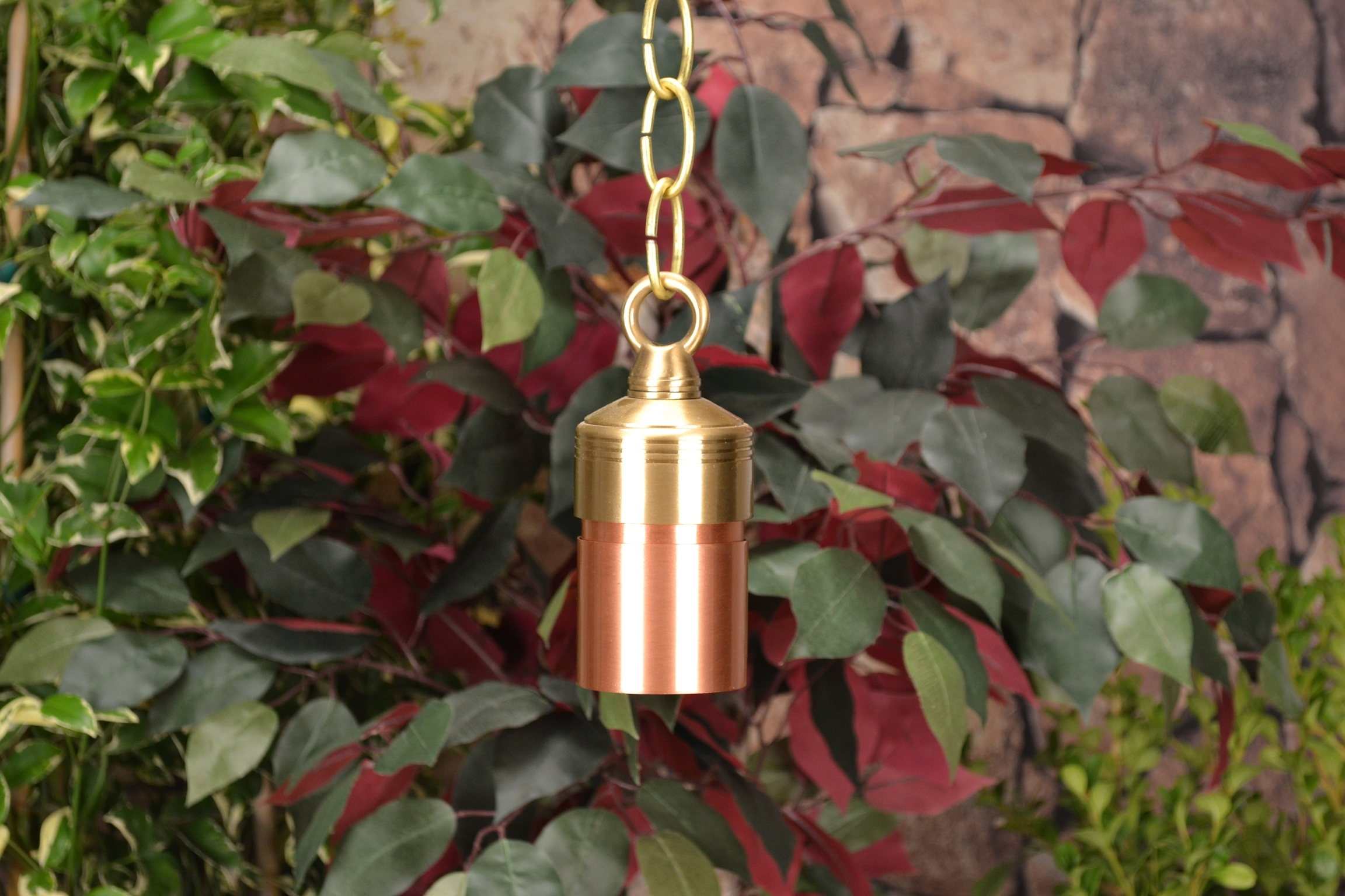 Lancasterunique Lighting Systems 12 Volt Copper Hanging Niche Pertaining To Low Voltage Outdoor Hanging Lights (#3 of 15)