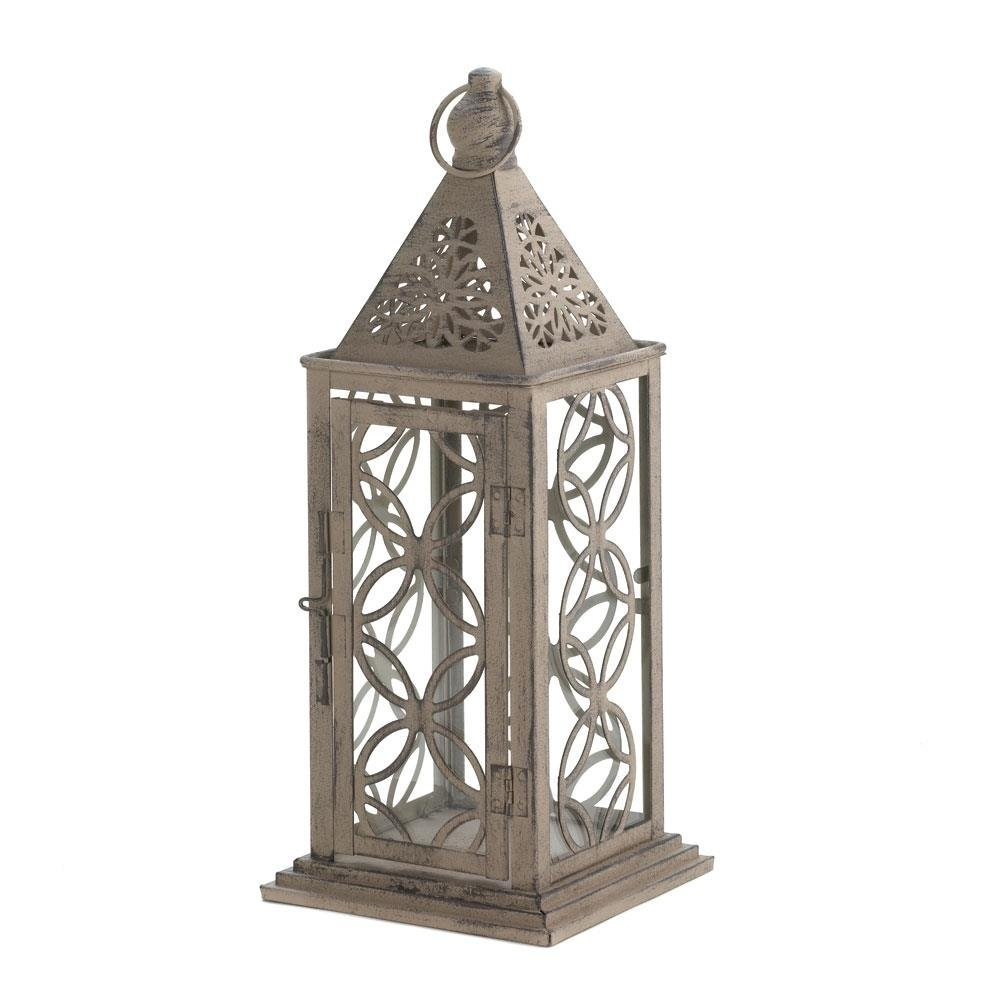 Lantern Hanging, Small Eclipse Metal Decorative Patio Rustic Outdoor Regarding Outdoor Hanging Decorative Lanterns (#9 of 15)