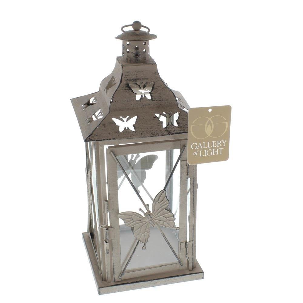Lanterns Outdoor, Butterfly Metal Decorative Floor Patio Outdoor Regarding Outdoor Hanging Metal Lanterns (#5 of 15)