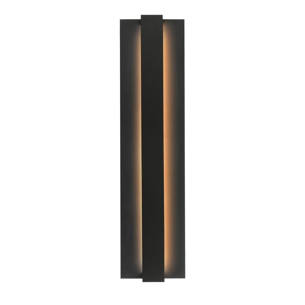 Lbl Lighting Windfall 1 Light Black Outdoor Led Sconce Od785Blledw In Black Outdoor Led Wall Lights (#9 of 15)